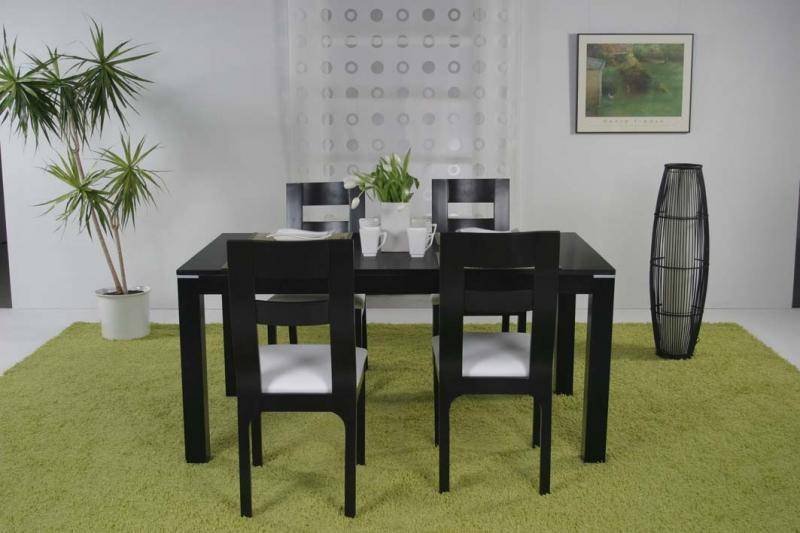 Stôl CORAL, stolička ELEGANCE