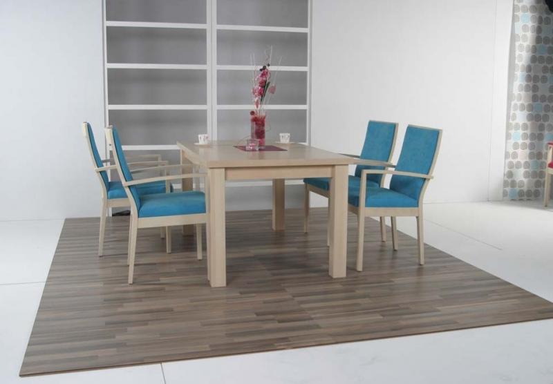 Stôl Bako, polokreslo ELEGANCE