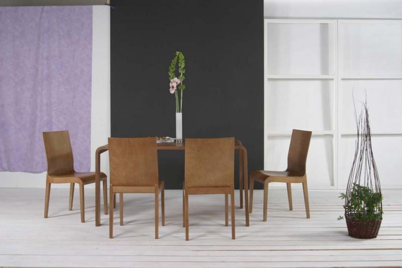 Stôl CANTO + Stolička WAVE 1