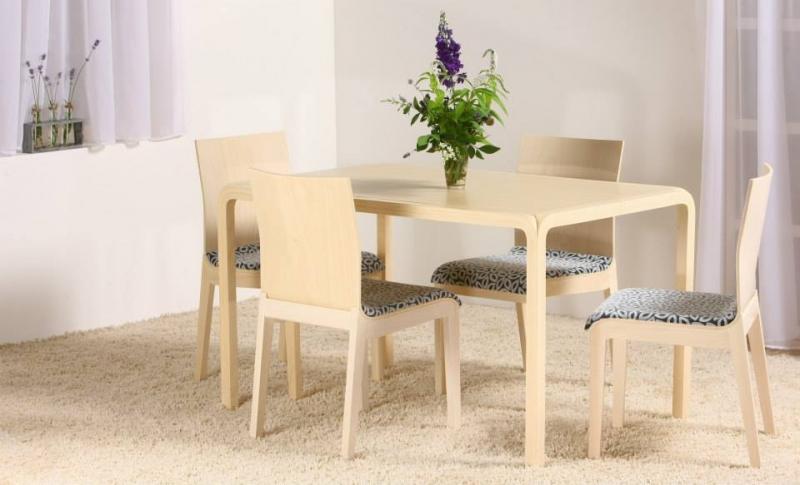 Stôl LAMEL + stolička WAVE 2